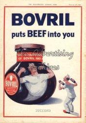 1940s UK Bovril Magazine Advert