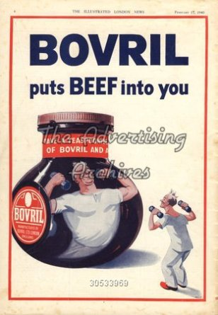 1940s UK Bovril Magazine Advert