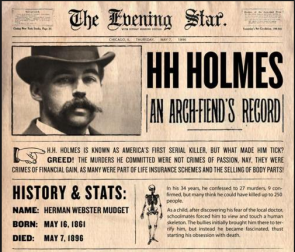 HH Holmes Paper