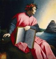 Dante schaut zum LÄuterungsberg