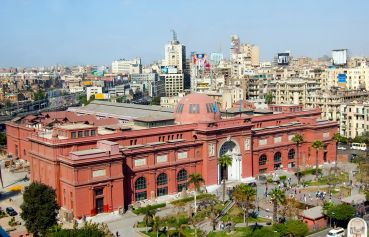 The_Egyptian_Museum in Kairo heute
